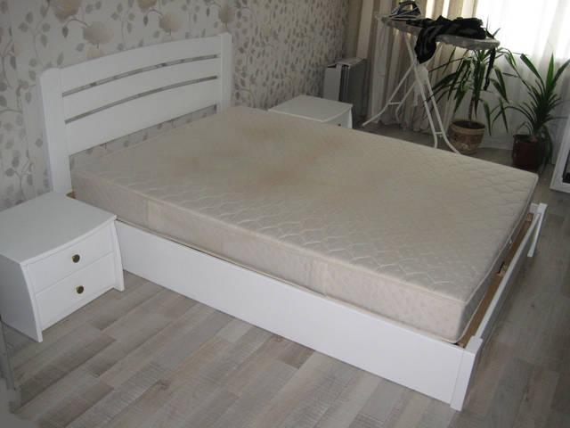 Кровать Селена Аури массив 107 (Белый)