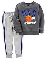 Набор штаны+кофта Carters на мальчика 2-5 лет MVP Top & Fleece Jogger Set