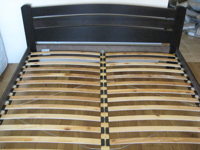Кровать Селена Аури щит 101 (Темный орех)