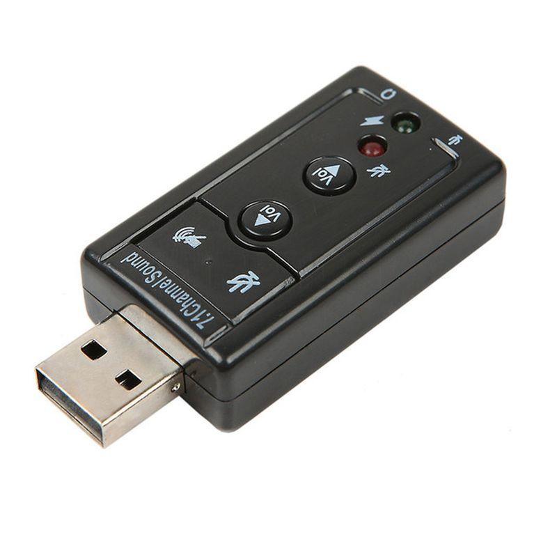 Зовнішня звукова карта USB 7.1 Channel Sound