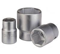 Головка торцевая 3/4 дюйма, 6 граней, 17 мм, L-50 мм Info