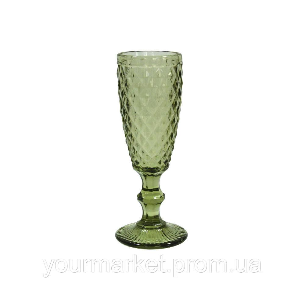 Бокал-шампанское Изумруд-2 180 мл зеленый, 34215-12-1