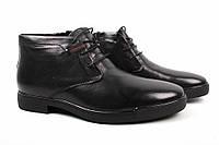 Ботинки мужские Basconi натуральная кожа, цвет черный (каблук, комфорт, зима, нат. мех), фото 1