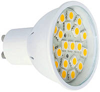 Лампа светодиодная MR16 e.save.LED.GU.10.20.3.2700 20led, 3Вт, 2700К (PC)