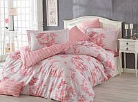 Постельное белье HOBBY Poplin Vanessa розовый Евро