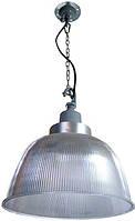Светильник подвесной e.save.high.light.02.65 под энергосберегающую лампу до 65 Вт (плафон поликарбонатный+соединитель+подвес)