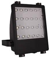 Прожектор светодиодный e.light.LED.102.24.24.6500.black 24Вт черний