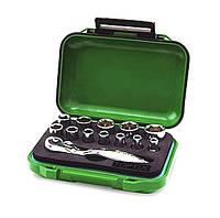 Набор инструментов 13 предметов, 1/4 дюйма, 6 граней, 4-14 мм Toptul GABW1301
