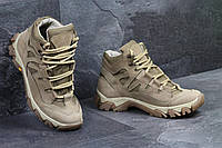 Мужские военные ботинки берцы демисезонные