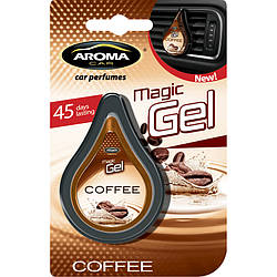 Ароматизатор Aroma Car Magic Gel COFFEE
