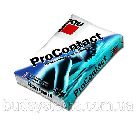 Клей для плит утеплителей Baumit ProContact, 25 кг