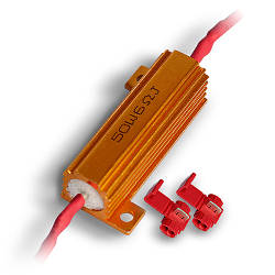 "Резистор-""обманка"" 50W 6 Ом(Ω) для светодиодных ламп"