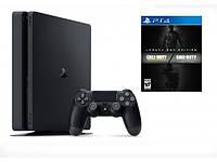 Игровая приставка SONY PS4 1TB slim + COD IW + MW