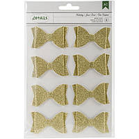Бантики Holiday Details Glitter Bows