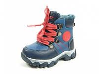 Детские зимние ботинки Clibee:H-98 Синий, р. 21-26