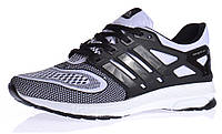 Кроссовки мужские Adidas Energy Boost 2 Black White текстильные , Белый, 40