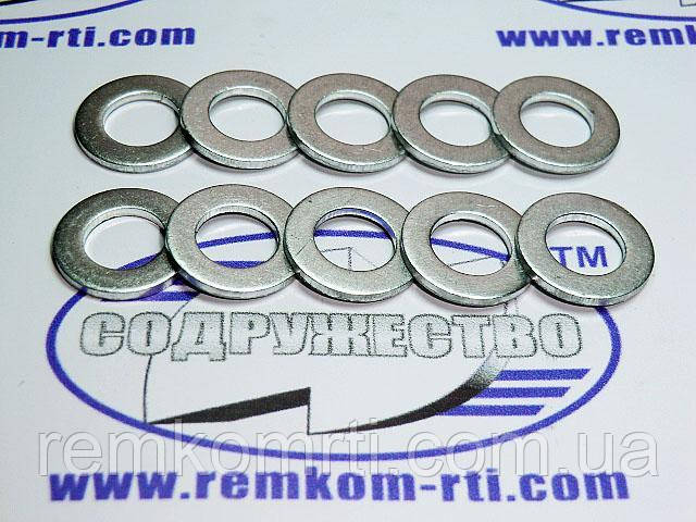 Шайба алюминиевая 09*16-1.5 кольцо алюминиевое уплотнительное распылителя форсунки МТЗ, ЮМЗ, СМД