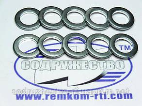 Шайба алюминиевая 10*16-2 кольцо алюминиевое уплотнительное слива форсунки (обратка) МТЗ, ЮМЗ, СМД