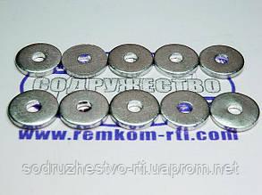 Шайба алюмінієва 04*14-2 (04*13.7-2) кільце алюмінієве кільце клапана розподільника Р-80
