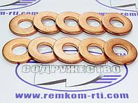 Шайба медная 09*20-2 кольцо медное уплотнительное форсунки Ford