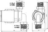 Насос для горячей воды JT-660D, 24В, фото 8