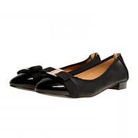 Туфли женские лодочки черные на широком каблуке Vices кожаная стелька, Черный, 41