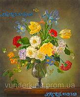 "Картины по номерам на холсте ""Цветы"" 30х40см"