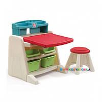 """Детский стол со стулом для творчества """"FLIP&DOODLE"""" Step2 41380"""
