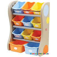 """Органайзер с разноцветными ящиками """"FUN TIME ROOM ORGANIZER"""" Step2 41382"""