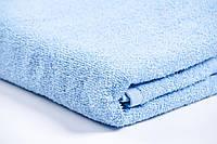 Полотенце махровое голубое Пакистан 30х50