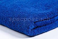 Полотенце махровое синее Пакистан 70х140