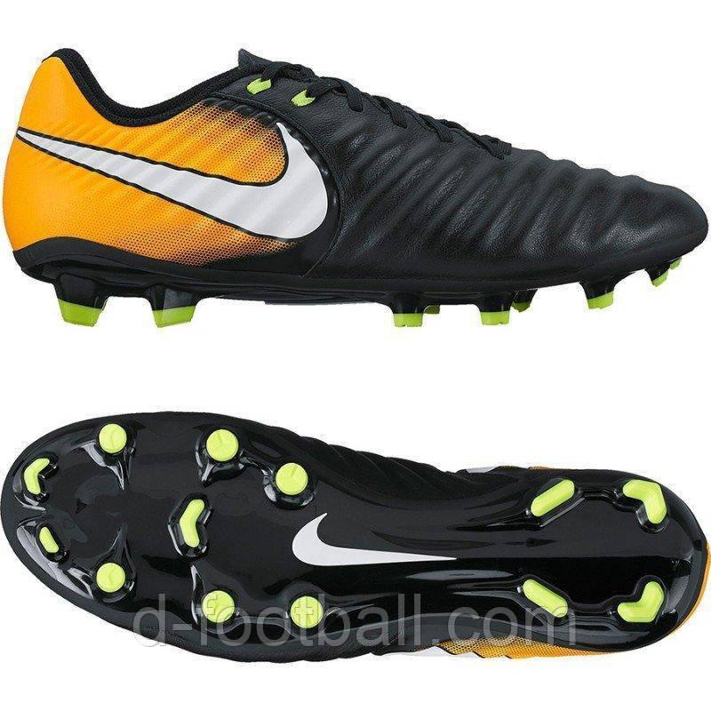 Детские футбольные бутсы Nike TiempoX Rio IV FG 897731-008 купить ... 74d295c185d