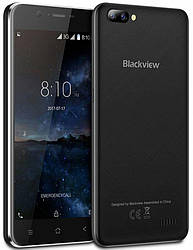 Смартфон Blackview A7 black 1/8 Gb Quad-Core