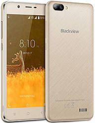 Смартфон Blackview A7 gold 1/8 Gb Quad-Core