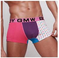 Мужские трусы GMW трехцветные