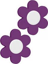 Набор клипс 2шт для вазонов LANDHAUS (Фиолетовый) EMSA EM513471