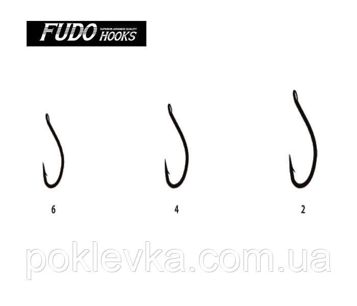 Гачок Fudo Сагр 1 Black Nickel 6 шт.