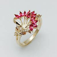 Женское кольцо Радостное, размер 18, 19 ювелирная бижутерия