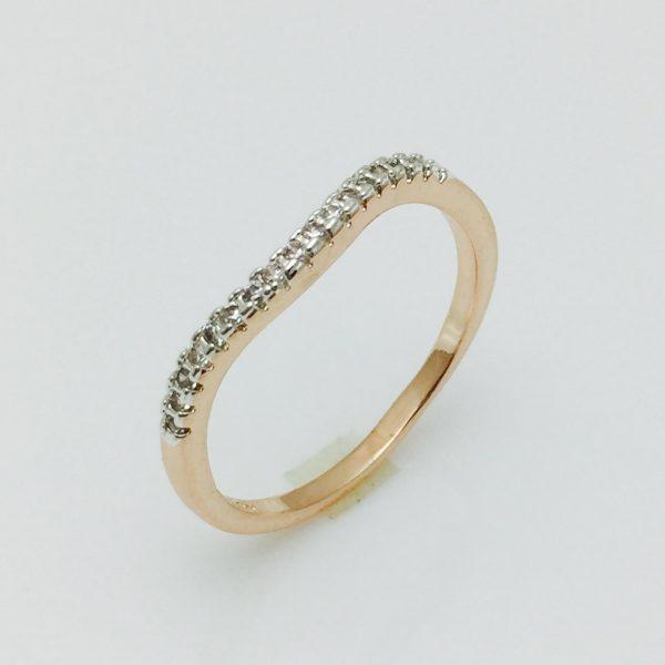 Кольцо Лучик, размер 17, 18, 19 ювелирная бижутерия