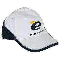 Бейсболка EnergoFish бело-черная