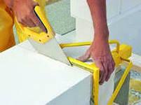 Инструменты для газобетонных блоков