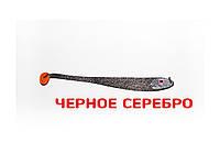 Плоская приманка Asmak 12-23 мbs Minnow 23 см Черное Cеребро