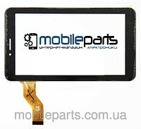 """Оригинальный Сенсор (Тачскрин) для планшета 7"""" VTC5070A61-2.0 (186*106 мм, 30 pin) (Черный-Самоклейка)"""