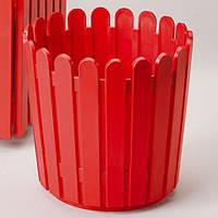 EMSA EM512685 Кашпо для цветов LANDHAUS 30см (Красный)