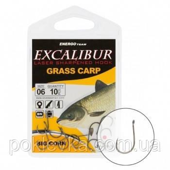 Крючок Excalibur Big Corn NS 2/0