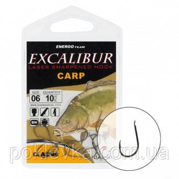 Крючок Excalibur Сarp Classic NS 12