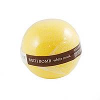 Соль для ванн Organique Бомбочка для ванны Organique Белый мускус 170 г