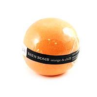 Соль для ванн Organique Бомбочка для ванны Organique Апельсин и чили 170 г