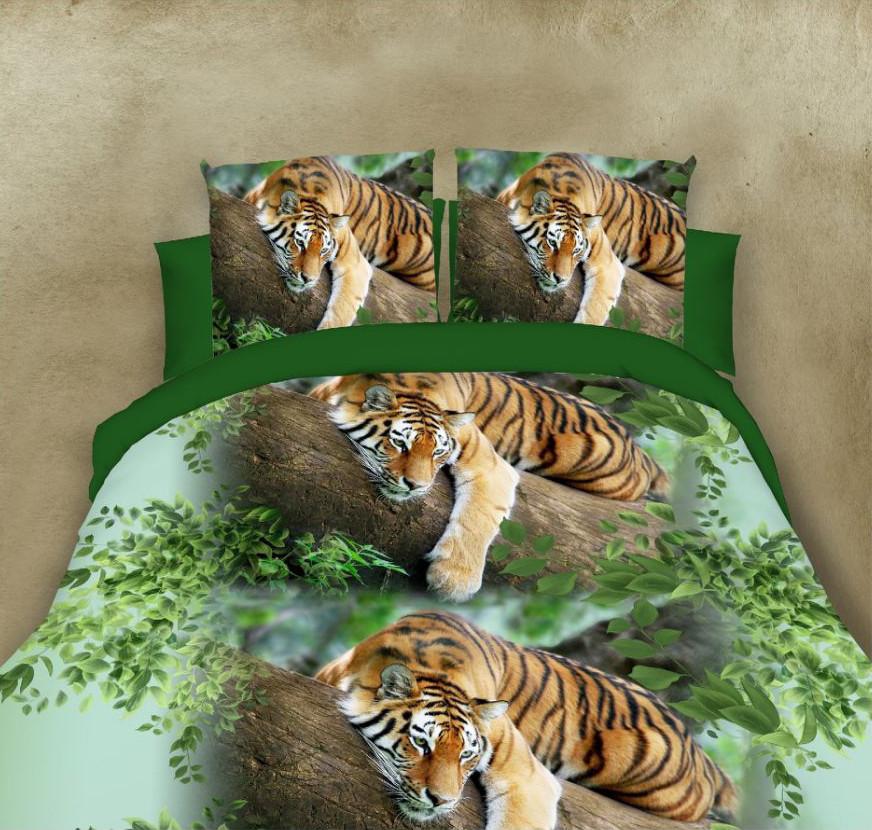 Двуспальный набор постельного белья 180*220 из Полиэстера №159 Черешенка™