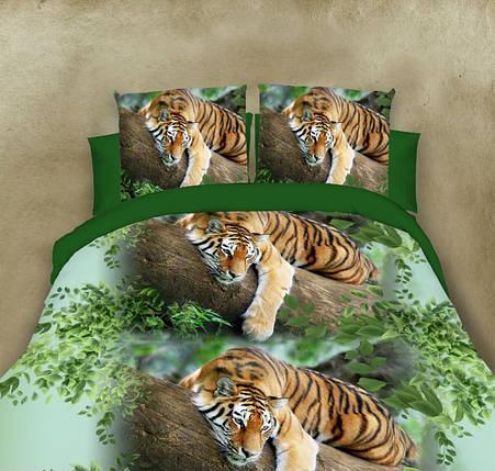 Двуспальный набор постельного белья 180*220 из Полиэстера №159 Черешенка™, фото 2